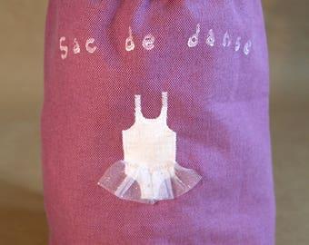 Duffel bag, like a large - dance bag