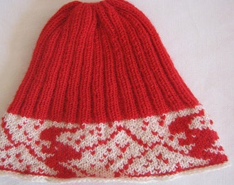 Jacquard ski Hat