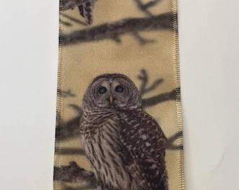 "FREE SHIPPING- 2.5"" Wired Nature Scene Owl Ribbon - Fall Ribbon - Nature Ribbon - 5 Yards"