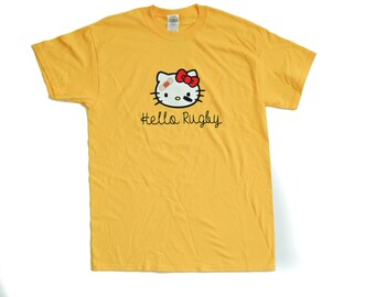 Hello Rugby T-Shirt Rugby Tee Shirt