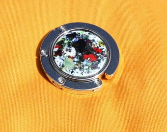 wear purse/bag diameter 45 mm metal hook