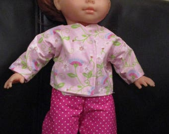 garment 36 cm my Pajamas corolle doll two-piece