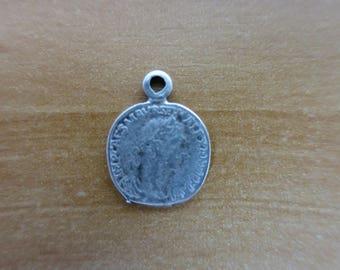 Alexander coin charm