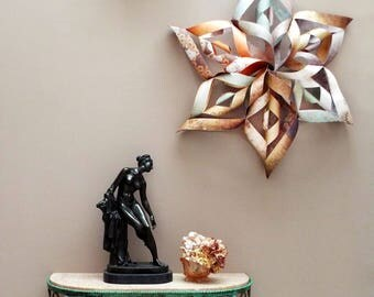 Star wall hanging paper