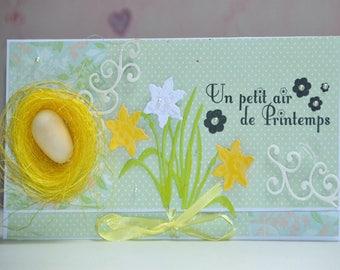 March challenge: spring card envelope