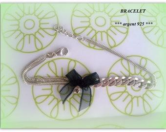 * 925 sterling silver bracelet. think Valentine... *.
