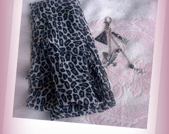 SCARF leopard + GRIGRI African and wild!