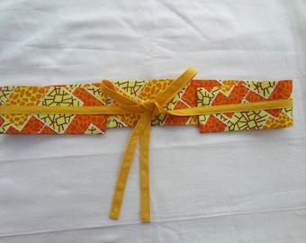 Women belt 100 percent cotton
