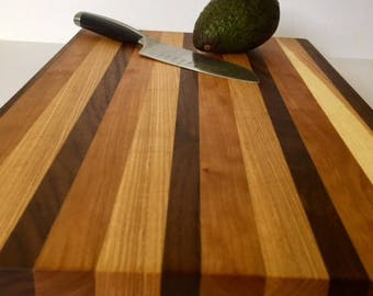 Cutting Board, Walnut, Ash, Cherry