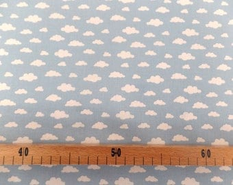 Cloud pattern cotton fabric