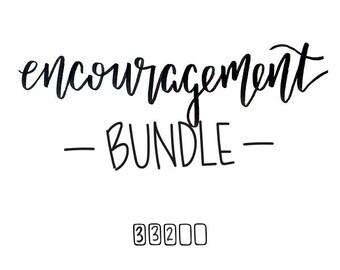 encouragement bundle // (10) 4 x 6 postcard prints