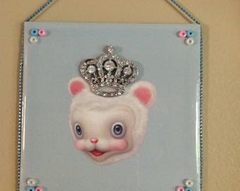 Decorative Tile Wall Hanging/ Mark Ryden