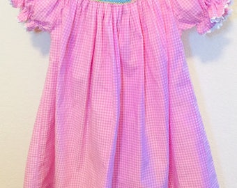 First Birthday Smocked Dress, Birthday Smocked Dress, Smocked Dress