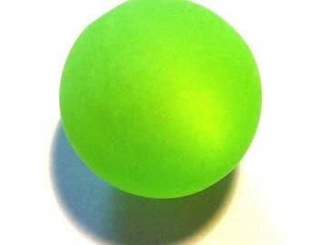 5 Pearl green fluo12mm polaris 5 beads