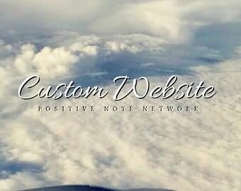 Custom Website // Pro