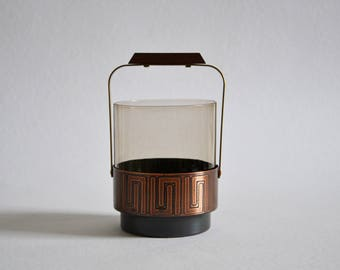 Ice bucket / 1960s / copper / Germany / vintage / sixties / barware / bar cart / mid century / modern kitchen