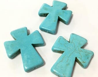 X 5 cross stone 50mm or 5cm ❤ ❤