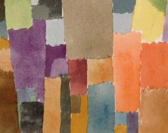 PLACEMAT semi-rigid ORIGINAL AESTHETIC WASHABLE and durable - Paul Klee - polyphonic - classic.