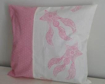 DreamCatcher pillow cover pink 40/40 cm