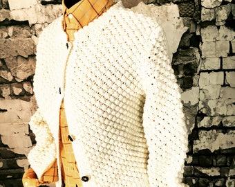 Vintage 1980's Chunky Knit Size 10/12