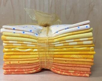 Yellow/Orange This N That fat quarter bundle