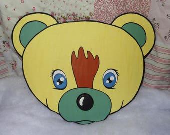 big Teddy bear coat rack
