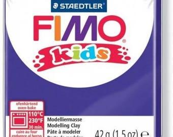 Polymer purple kids n ° 6