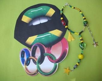 Jamaica mirror pendant