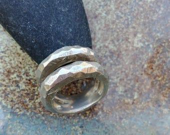 Sterling silver ring,modern ring,women's ring,ring for her,