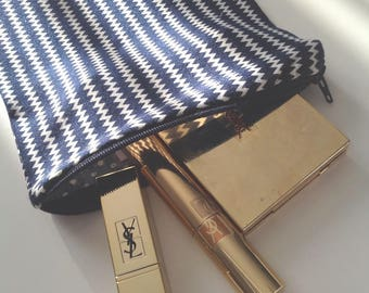 """Small makeup pouch - model unique """"double sided"""""""
