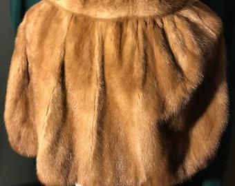 Vintage Lowenthal's Fur Cape