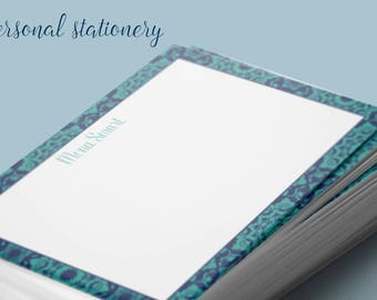 Custom Design Personal Stationery.  Create the perfect design for your correspondence, thank you notes, gifts, girlfriend, or bridal party