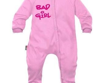 Baby girl Pajamas: bad girl