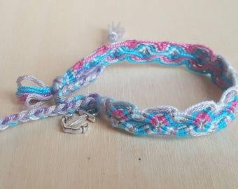 Handmade Bracelet with Anchor Charm
