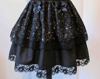 Skirt galaxy stars