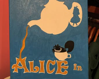 Minimalist Alice in Wonderland