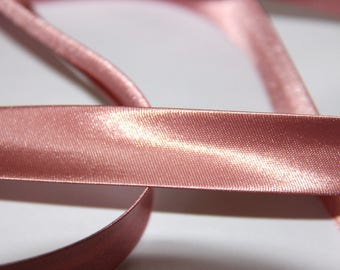 PINK 100% POLYESTER SATIN OLD 18MM