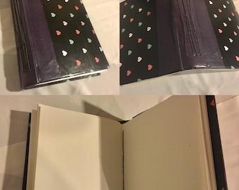 Handcrafted art journal/sketchbook