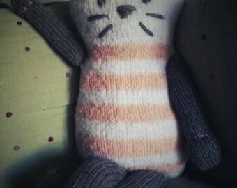 Plush knit for little girl