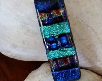 Multi Colored Dichroic Pendant