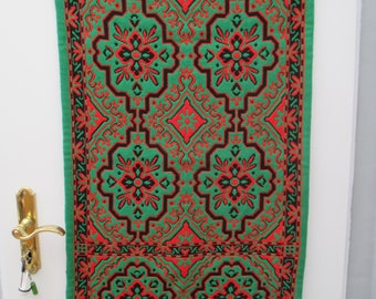Vintage tapestry, vintage wall decoration, vintage deco, vintage table runner, old tapestry, wall decoration, Deco, table runner, fabric, wool,