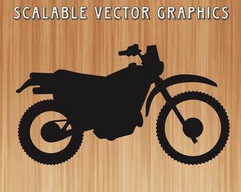 vintage dirt bike svg, motorcycle cut file, dirtbike svg, dirtbike outline, engravable motorcyle, dirtbike rider, dirt bike, shirt design