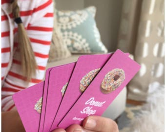 Donut Shop playing cards - poker face cards
