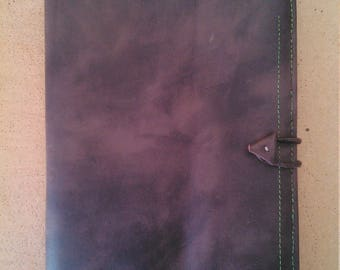 Book cover / leather notebook