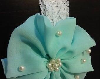 Fancy headband baby girl 0-3 months