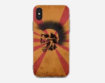 Skull iPhone Case, iPhone X case, iPhone 8 case, iPhone 8 Plus case, iPhone 6S, iPhone 7 Plus case, iPhone 5C case, iPhone SE,iPhone 5S
