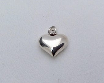 Sterling Silver 925 Heart Charm