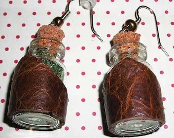 Faerie/steampunk earrings (earrings only)