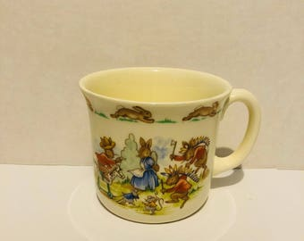 Royal Doulton Bunnykins Cowboys and Indians Mug