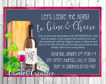 Wine & Cheese Invitation